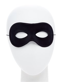 Black Masquerade Eye Mask