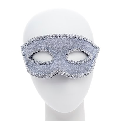 Silver Masquerade Masks for Couples - His and Hers Masquerade Masks right