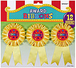 Rossette Award Ribbons