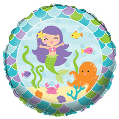"Mermaid Friends Balloon - 18"" Foil"