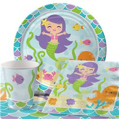 Mermaid Friends Party Pack - Value Pack for 8