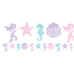 Mermaid Shine Shaped Garland - 1.8m