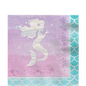 Mermaid Shine Party Pack - Value Pack For 8