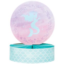 Mermaid Shine Honeycomb Table Centrepiece - 30.5cm