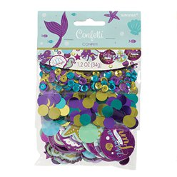 Mermaid Wishes Table/Invite Confetti - 34g