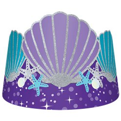 Mermaid Wishes Paper Tiara Crowns