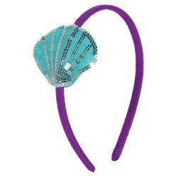 Mermaid Wishes Shell Headband