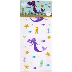 Mermaid Wishes Treat Bags Kit