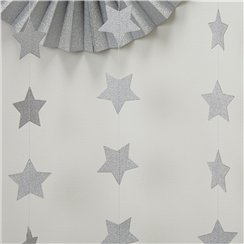 Metallic Perfection Star Garland