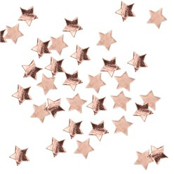 Rose Gold Metallic Star Table/Invite Confetti - 14g