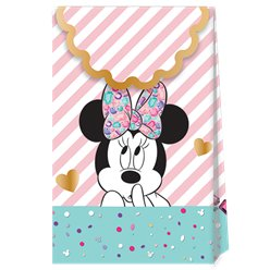 Disney Minnie Party Gem Paper Party Bags