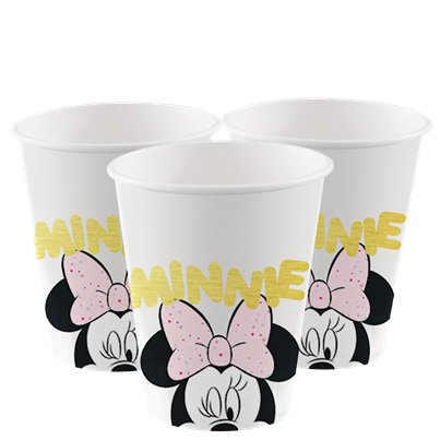 Disney Minnie Party Gem Paper Cups - 200ml