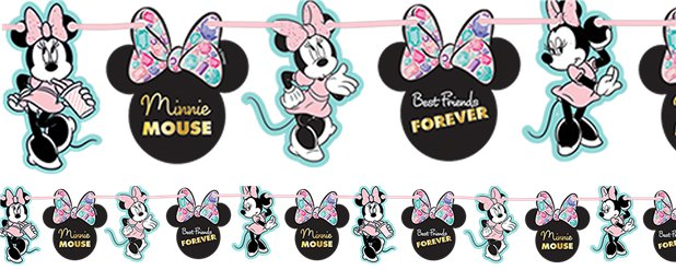 Disney Minnie Party Gem Garland Kit - 2m