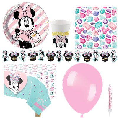 Disney Minnie Gem Party Pack - Deluxe Pack For 8