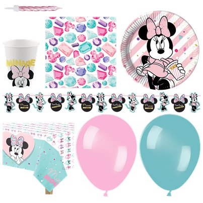 Disney Minnie Gem Party Pack - Deluxe Pack For 16