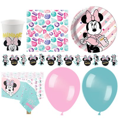 Disney Minnie Gem Deluxe Party Pack