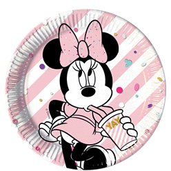 Disney Minnie Party Gem Party Paper Plates - 23cm