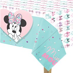 Disney Minnie Party Gem Tablecover - 1.2m x 1.8m