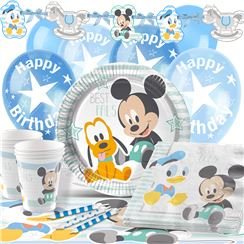 Baby Mickey Party Pack - Deluxe Pack for 16