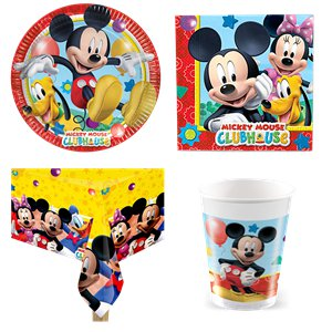 Mickey Mouse Party Pack - Value Pack for 8