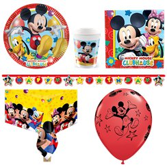 Mickey Mouse Party Pack - Deluxe Pack for 8
