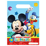 Mickey Mouse Clubhouse Party Bags - Plastic Loot Bags