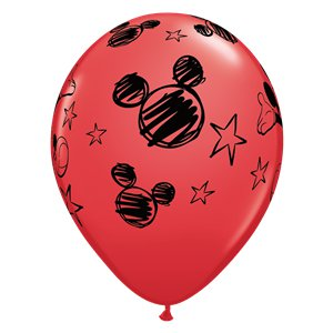 Mickey Mouse Red Balloons - 11