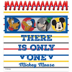 Mickey Mouse Spiral Notebooks