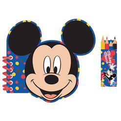 Mickey Mouse Activity Colouring Book
