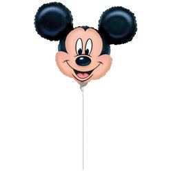 "Mickey Mouse Mini Foil Balloon - 9"" Foil"
