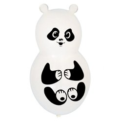 Panda Shaped Balloons - 40cm Latex Balloons