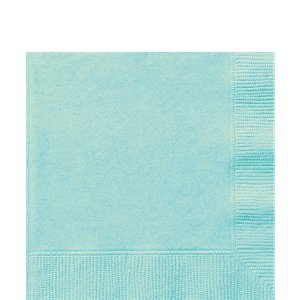 Mint Green Luncheon Napkins - 33cm Square 2ply Paper