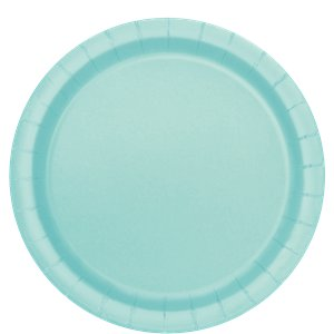 Mint Green 22cm Paper Party Plates