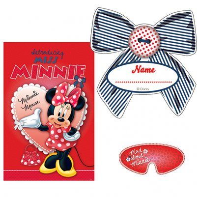 Minnie Mouse Game - Pin The Bow Party Game