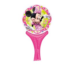 "Minnie Mouse Inflate a Fun Balloon - 12"" Foil"