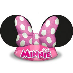Minnie Mouse Die-Cut Party Hats
