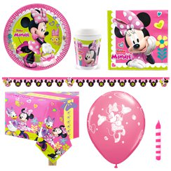 Minnies Happy Helpers Party Pack - Deluxe Pack for 8