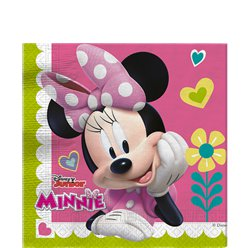 Minnie Mouse Party 2ply Paper Napkins - 33cm