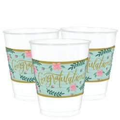 Mint To Be Plastic Cups - 473ml