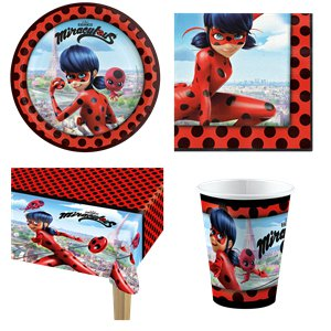 Miraculous Ladybug Party Pack - Value Pack for 8