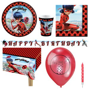 Miraculous Ladybug Party Pack - Deluxe Pack for 8