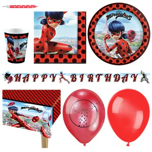 Miraculous Ladybug Party Pack - Deluxe Pack for 16