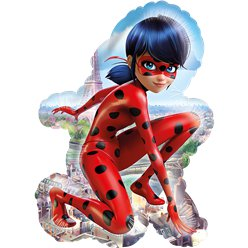 "Miraculous Ladybug SuperShape Balloon - 34"" Foil"