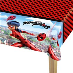 Miraculous Ladybug Plastic Tablecover - 1.2m x 1.8m