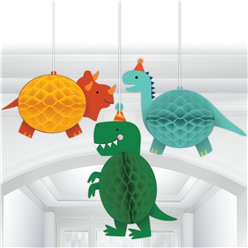 Dino-Mite Hanging Decorations