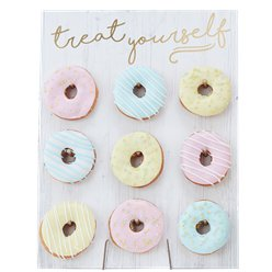 Pick & Mix Pastel Treat Yourself Donut Wall