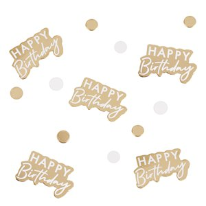 Gold Foil Table Confetti