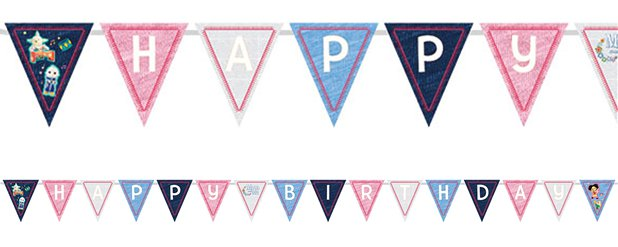 Moon and Me Bunting - 3.3m