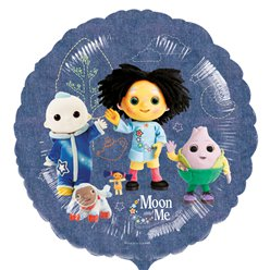 "Moon and Me Balloon - 18"" Foil"