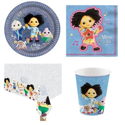 Moon and Me Party Pack - Pack Kit for 8
